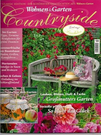 Wohnen & Garten Countryside, 02/2011, S. 84, Handkralle LYRA aus Kupfer
